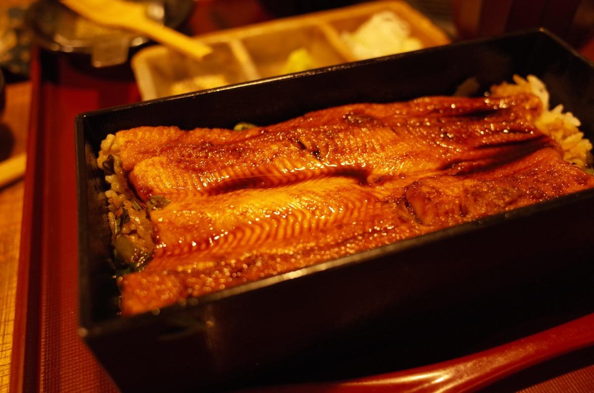 お出汁をかけて櫃まぶし風にするのは、さっぱりして鰻より好みでした
