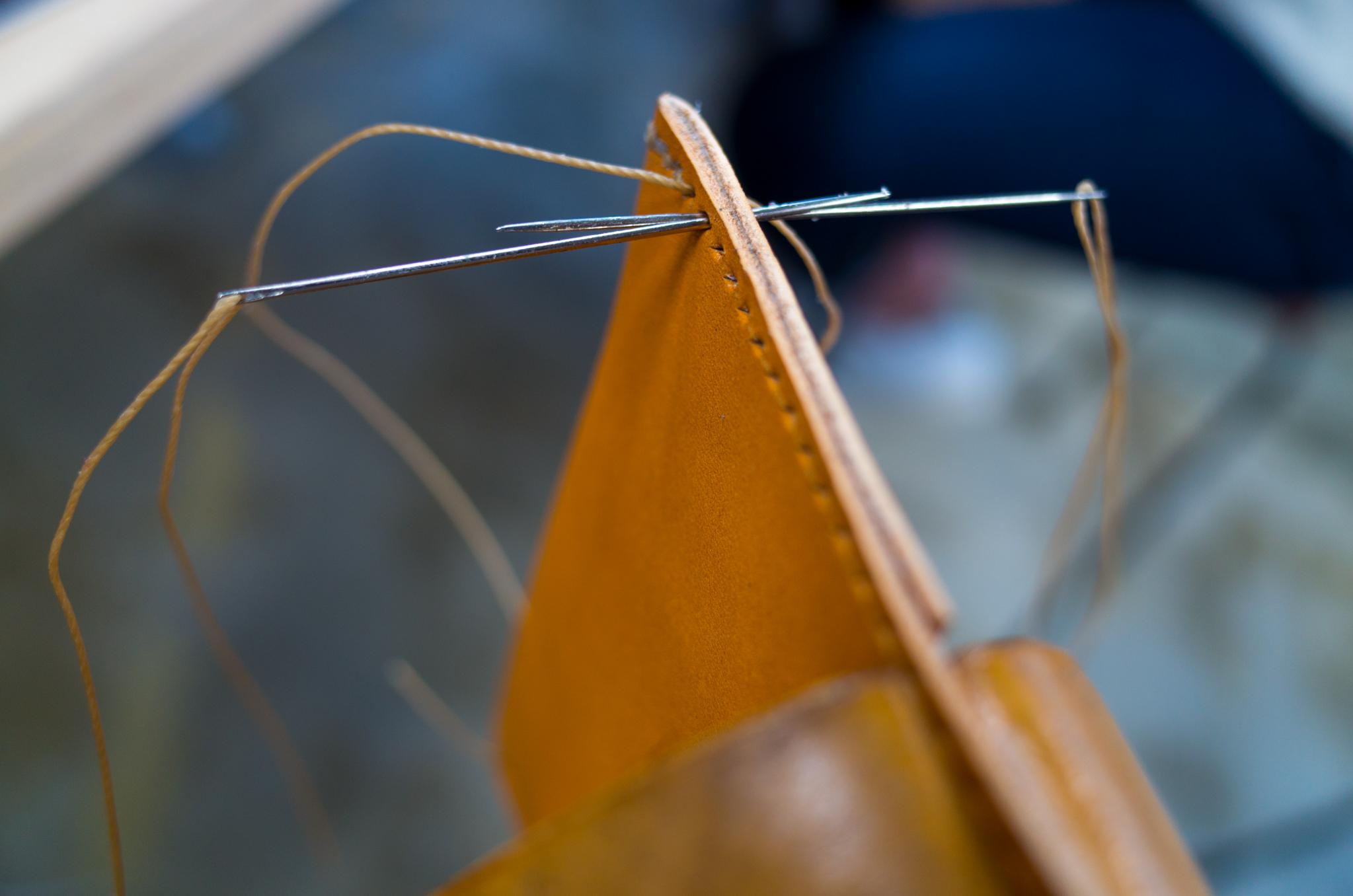 縫いが固くて、針が指に刺さって大変だった。。。